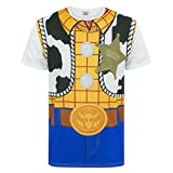 Disney Toy Story Woody Costume Men's T-Shirt (M)