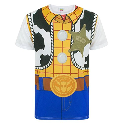 (Disney Toy Story Woody Costume Men's T-Shirt (XXL))