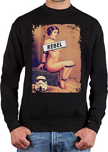 adrotes® Rebel Leia - Filmfan Sweatshirt - Gr.S-5XL