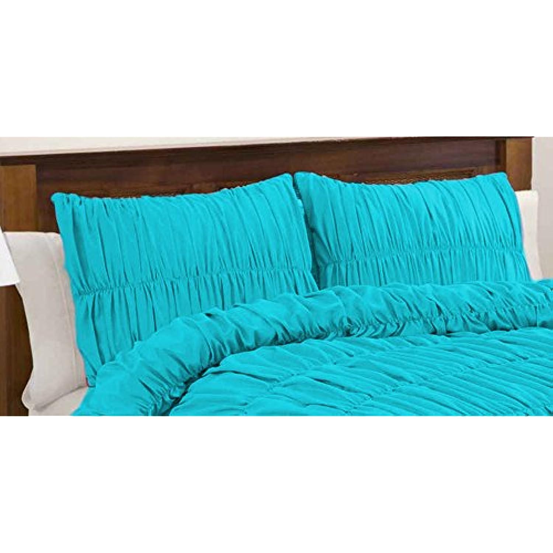 100% coton égyptien 200 Tc 3 pièces pièces 3 drap housse poche profonde 22,9 cm Taille King Size Motif rayures couleur Violet def4be