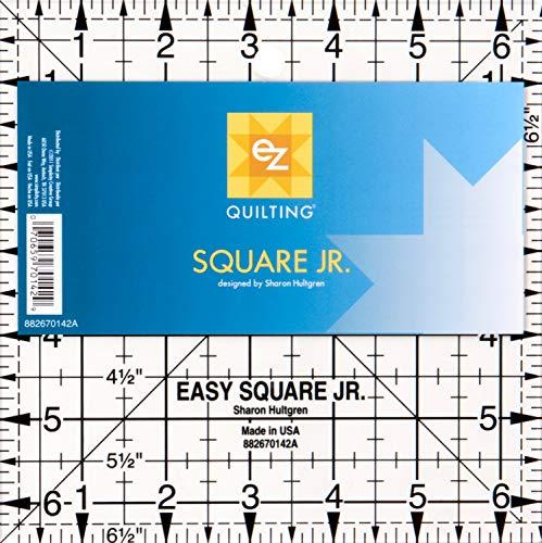 EZ Quilting Schablone aus Acryl Easy Square Junior -