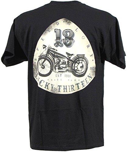 lucky-13-t-shirt-old-bike-black-m