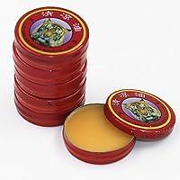 attachmenttou Bálsamo de Tigre Aceite Esencial chino 10 piezas El tratamiento restaure rojo para la gripe fría Dolor de