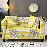 SHFOLSFH Print Slipcover Sofa Cover All-Inclusive Slip-Resistant Sectional Elastic Full Couch Case For Different Sofa 20174397 L 195-230cm