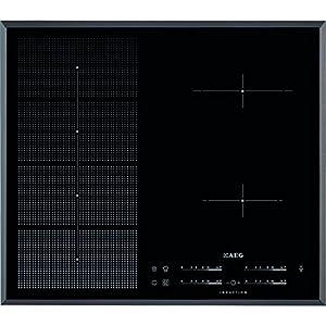 AEG HKP65410FB Integrado Con – Placa (Integrado, Con placa de inducción, Negro, 2500 W, 14,5 cm, 2800 W)