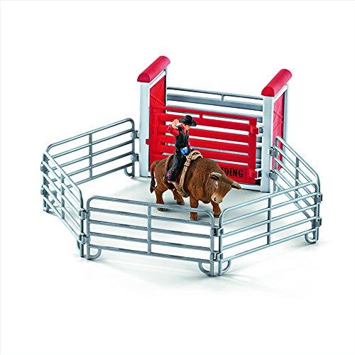 Preisvergleich Produktbild Schleich 41419 - Bull riding mit Cowboy - Spielzeug