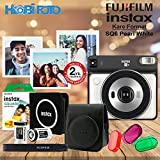 instax SQ 6 Pearl White Fotoğraf Makinesi Kit 20'Li Film