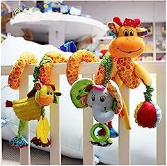 Idea Regalo - Bambino Bambini spirale Attività appendere le decorazioni di Pram Passeggini Seggiolino Auto culla della base della campana del fumetto regalo Giocattoli