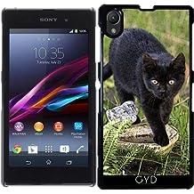Funda para Sony Xperia Z1 (l39h) - Gato Negro by Andrea Haase