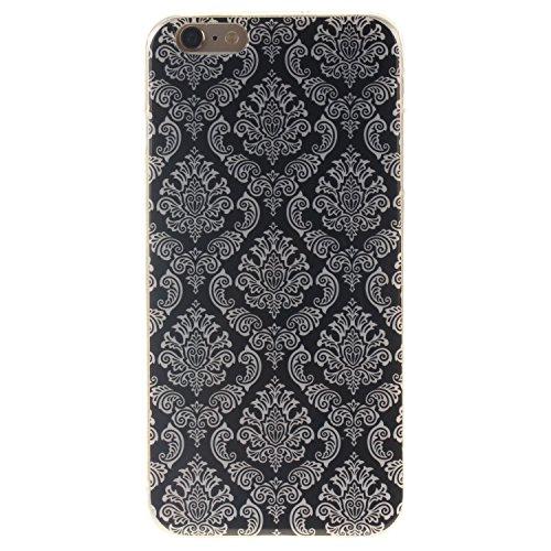"Coque iPhone 6s, MOONCASE iPhone 6 Slim Coque Housse Etui Silicone Parfait Soft TPU Back Case Cover pour iPhone 6 (2014) / 6s (2015) 4.7"" - TX01 Fleurs Series - TX02"