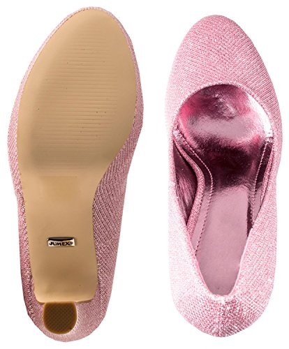 Elara - Scarpe con plateau Donna Pink