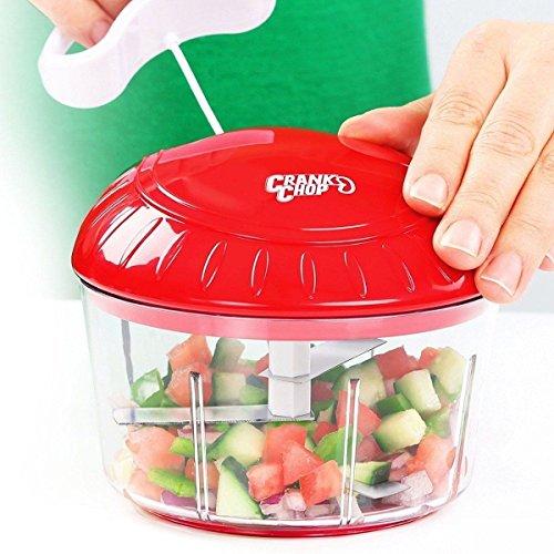 Shopping in rete tritatutto manuale a corda escola trita verdure frutta formaggio frutta secca - affettatutto tagliatutto affettatrice taglia frutta verdura