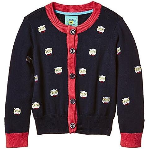 Uttam Kids - Panda Embroidered Cardi, Cardigan per bambine e