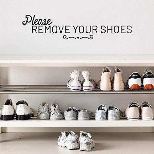 WSYYW Schönheit Bitte entfernen Sie Ihre Schuhe