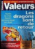 VALEURS ACTUELLES [No 3311] du 12/05/2000 - SECURITE AERIENNE - ATTENTION DANGER - LES DRAGONS SONT DE RETOUR - APRES LA CRISE - BOOM ECONOMIQUE EN ASIE - SEGUIN VAINQUEUR A PARIS DANS LES QUATRE ARRONDISSEMENTS CLES - SIERRA LEONE - FREETOWN - CAPITALE DE L'ENFER.
