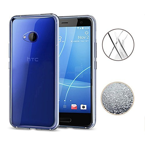 TopACE HTC U11 Life Hülle, TPU Hülle Schutzhülle Crystal Case Durchsichtig Klar Silikon Transparent für HTC U11 Life (Transparent)