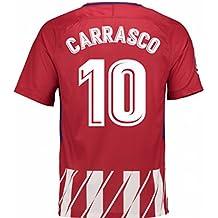 2017-2018 Atletico Madrid Home Shirt (Carrasco 10)