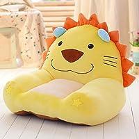 Preisvergleich für MAXYOYO Niedlicher LÖWE Kuscheltier Bean Bag Sessel, Cartoon Löwe Samt Sofa Sitz, weich Hairy Tatami Stühle für Jungen und Mädchen Lion 1