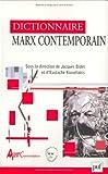 Dictionnaire Marx contemporain
