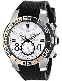 MULCO Cuarzo suizo unisex visor analógico de MW1-74197-021 reloj plata