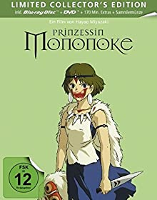 Prinzessin Mononoke - Steelbook [Blu-ray] [Limited Edition]