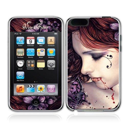 iPod touch Sticker Victoria Francés - butterfly - Größe 5,9 x 10,6 cm (Apple iPod touch Skin)