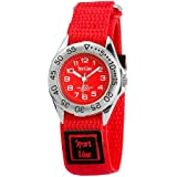 Sportline Damen-Armbanduhr XS Analog Quarz Textil 120025000001