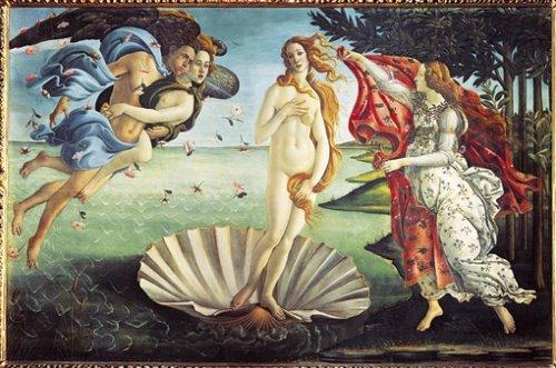 Clementoni 5314300 - Geburt der Venus  1000 Teile