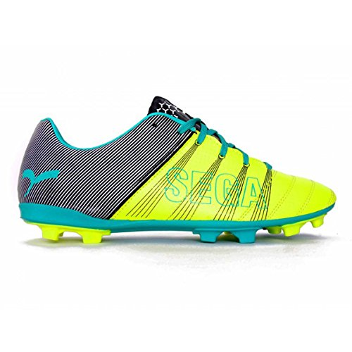 SEGA Men's Multicolor Stud Football Shoes - 6