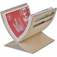 Lingjiushopping Zeitungsständer Zeitungsbox aus Holz Natur Material: Sperrholz Pappel Magazinständer preisvergleich bei billige-tabletten.eu