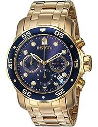 Invicta Herren- Armbanduhr Chronograph Quarz 73