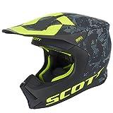 Scott 550 Camo MX Enduro Motorrad Helm schwarz/gelb 2018: Größe: XS (53-54cm)