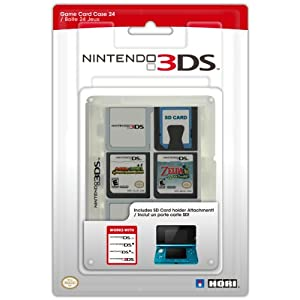 Nintendo 3DS – Game Card Cases Clear (24 Spiele)