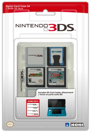 Nintendo Card 3ds-game Cases (Nintendo 3DS - Game Card Cases Clear (24 Spiele))
