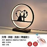 Lampe de table chambre à coucher lit maison lumière chaude bureau lampe d'étude