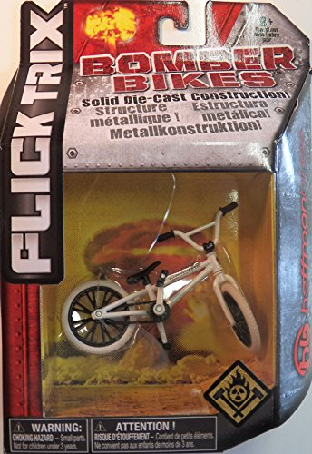Hoffman Bikes (Flick Trix Die-cast Bomber Bikes - Hoffman Bikes (White, Black))