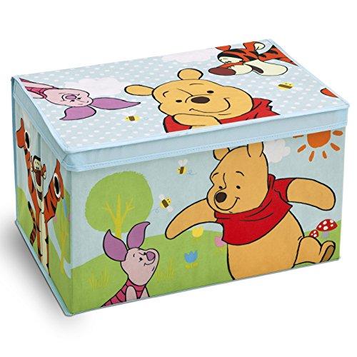 Preisvergleich Produktbild Spielzeugbox - Spielzeugkiste - Aufbewahrungskiste - Stoffbox mit großen Stauraum (Winnie the Pooh)