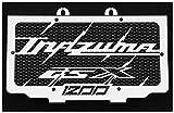 Kühlerverkleidung/Kühlerabdeckung 1200 GSX Inazuma + schwarzes Shutzgitter