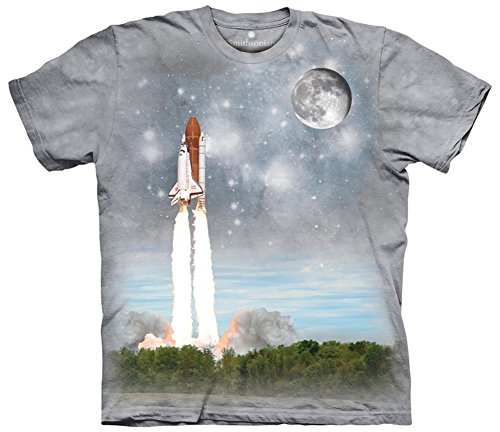 """The Mountain T-Shirt """"Final Flight to ISS"""" Mehrfarbig"""