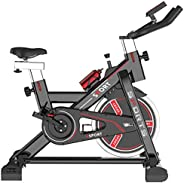 COOLBABY Exercise Cycling Bike Indoor Exercise Bike Trainer Spinning Family Indoor Exercise Fitness Bike Gym S