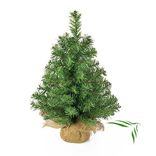 Artplants Mini árbol Navidad Artificial Athen Saco