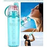 Celebrationgift Water Mist Plastic Spray Water Bottle 600 ml