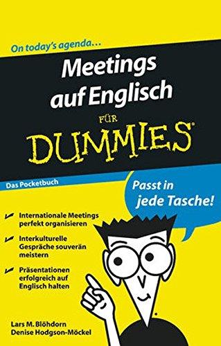 Meetings auf Englisch für Dummies Das Pocketbuch
