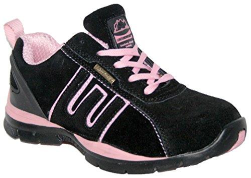 Groundwork , Basses femme multicouleur - Blk/Pink