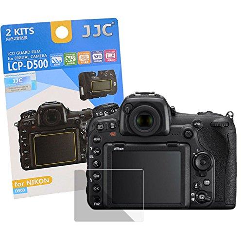 JJC Hochwertiger Displayschutz Screen Protector Displayschutzfolie passend für Nikon D500