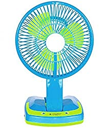 Berry 5590 Powerful Rechargeable Fan with 21SMD LED lights