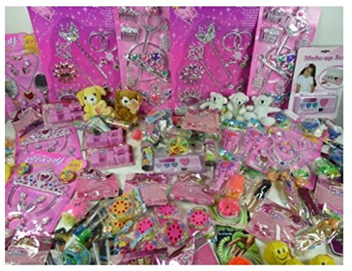 Riesiger Spielwaren-Posten für Mädchen, 20-25 Teilig, Bunt gemischt, tolles Spielzeug als Mitgebsel, Mitbringsel, Tombola und Verlosungsartikel