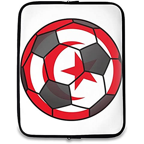 Tunisia Calcio Stampato Laptop case| Custom printed-slim fit| la borsa