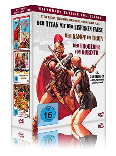 Bild von Historien Classic Collection (Der Titan mit der eisernen Faust - Der Kampf um Troja - Der Eroberer von Korinth) [3 DVDs]