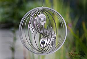 Windspiel edelstahl yin yang garten for Windspiel edelstahl garten